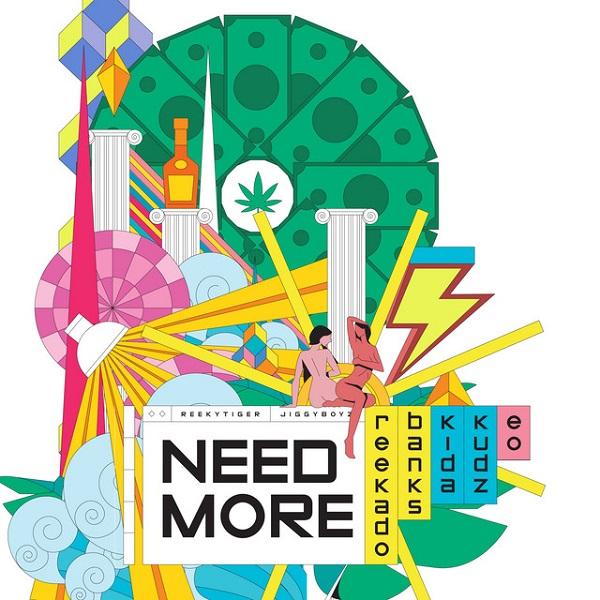 Need More by Reekado Banks, Kida Kudz & EO Mp3 Download